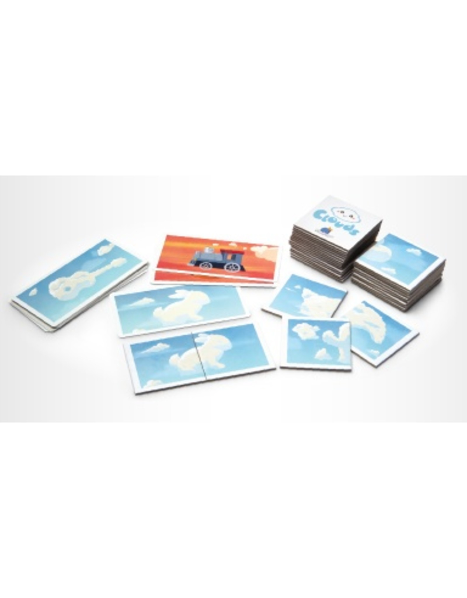 Blue Orange Games Clouds Matching Game