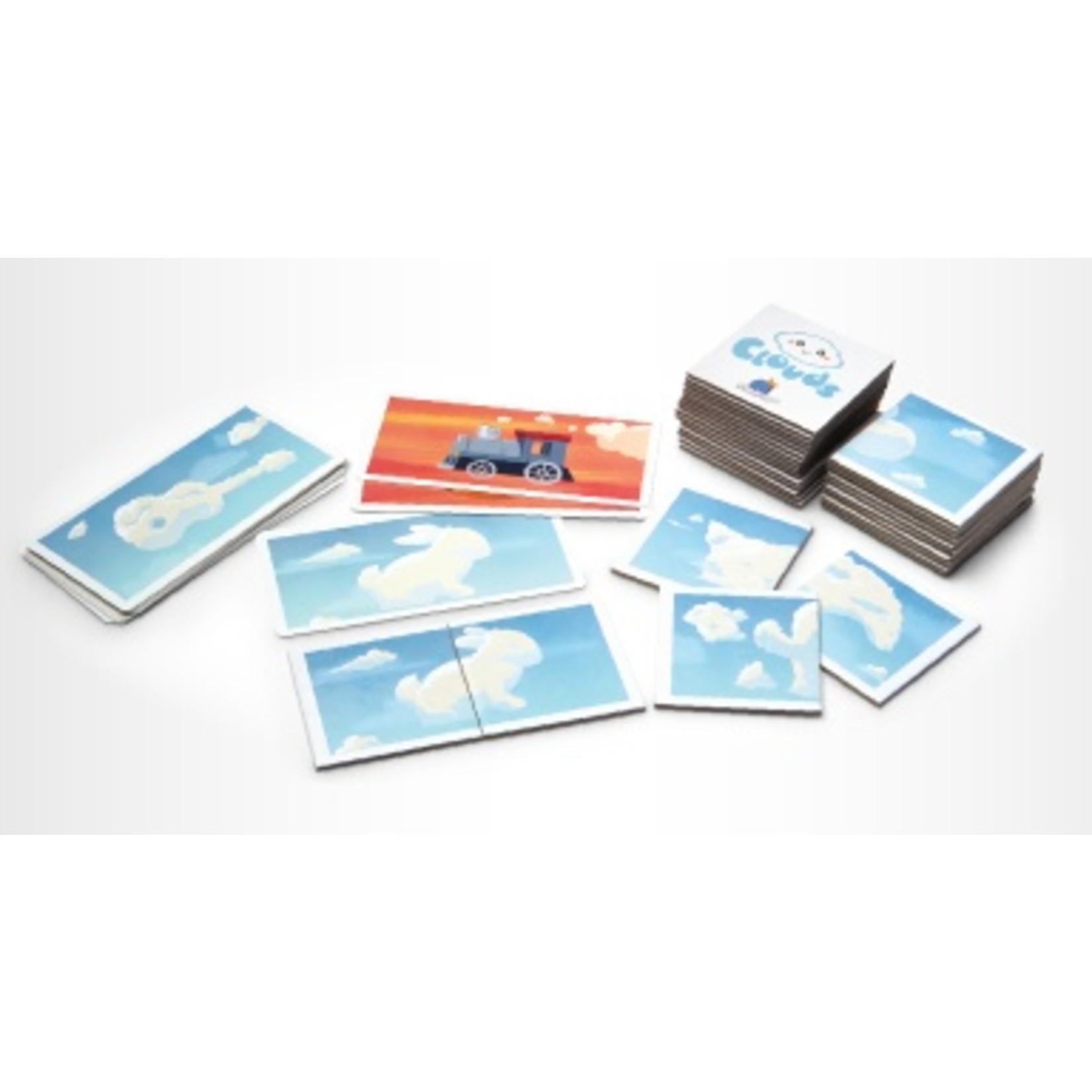 Blue Orange Games Clouds Matching Game