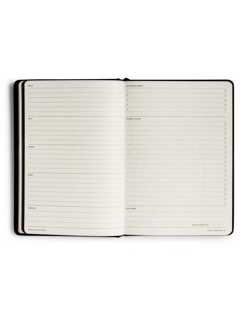 Mi Goals Mi Goals Planner  (Black)