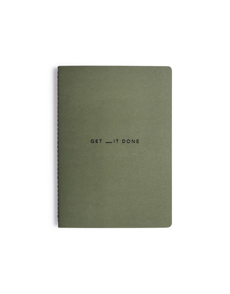 Mi Goals Get __It Done Medium Journal