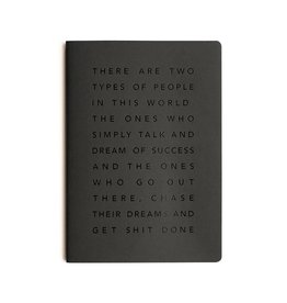 Mi Goals Get Sh*t Done Manifesto Notebook