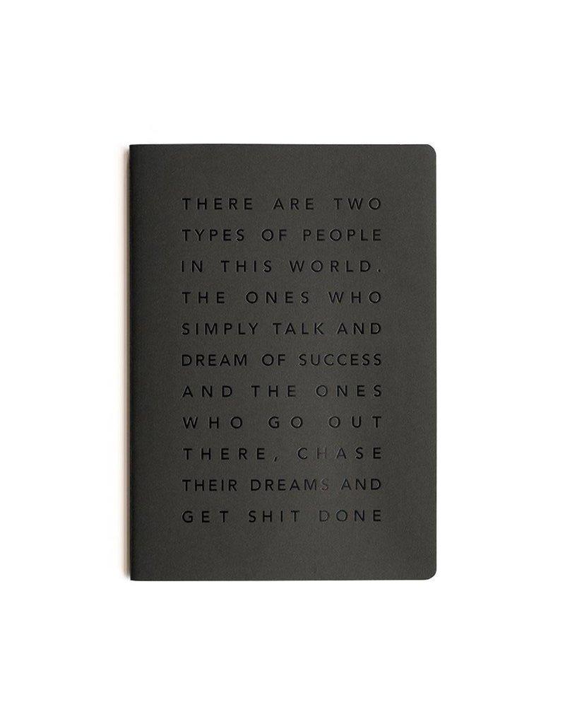 Mi Goals Get Sh*t Done Manifesto Notebook