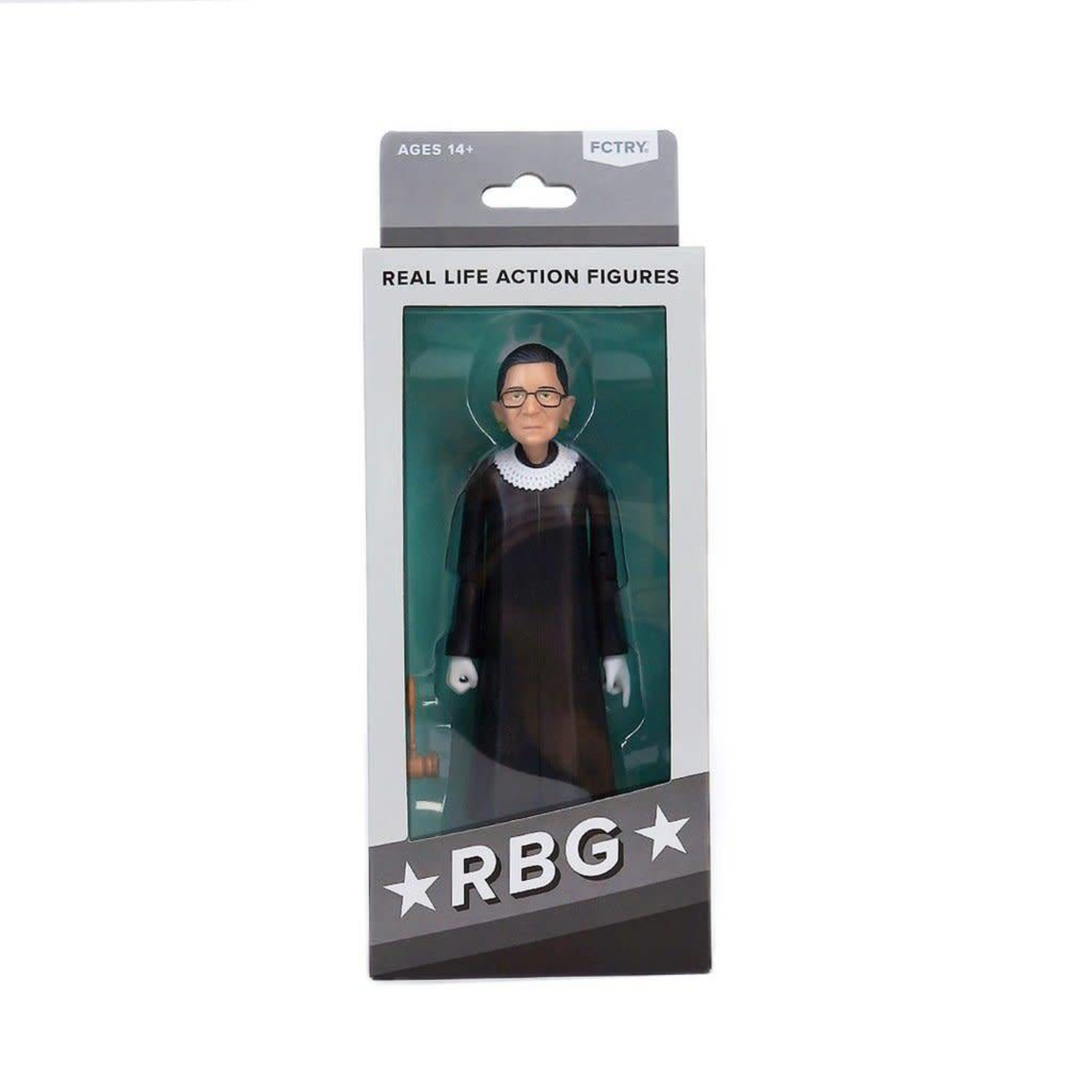FCTRY Ruth Bader Ginsburg Action Figure
