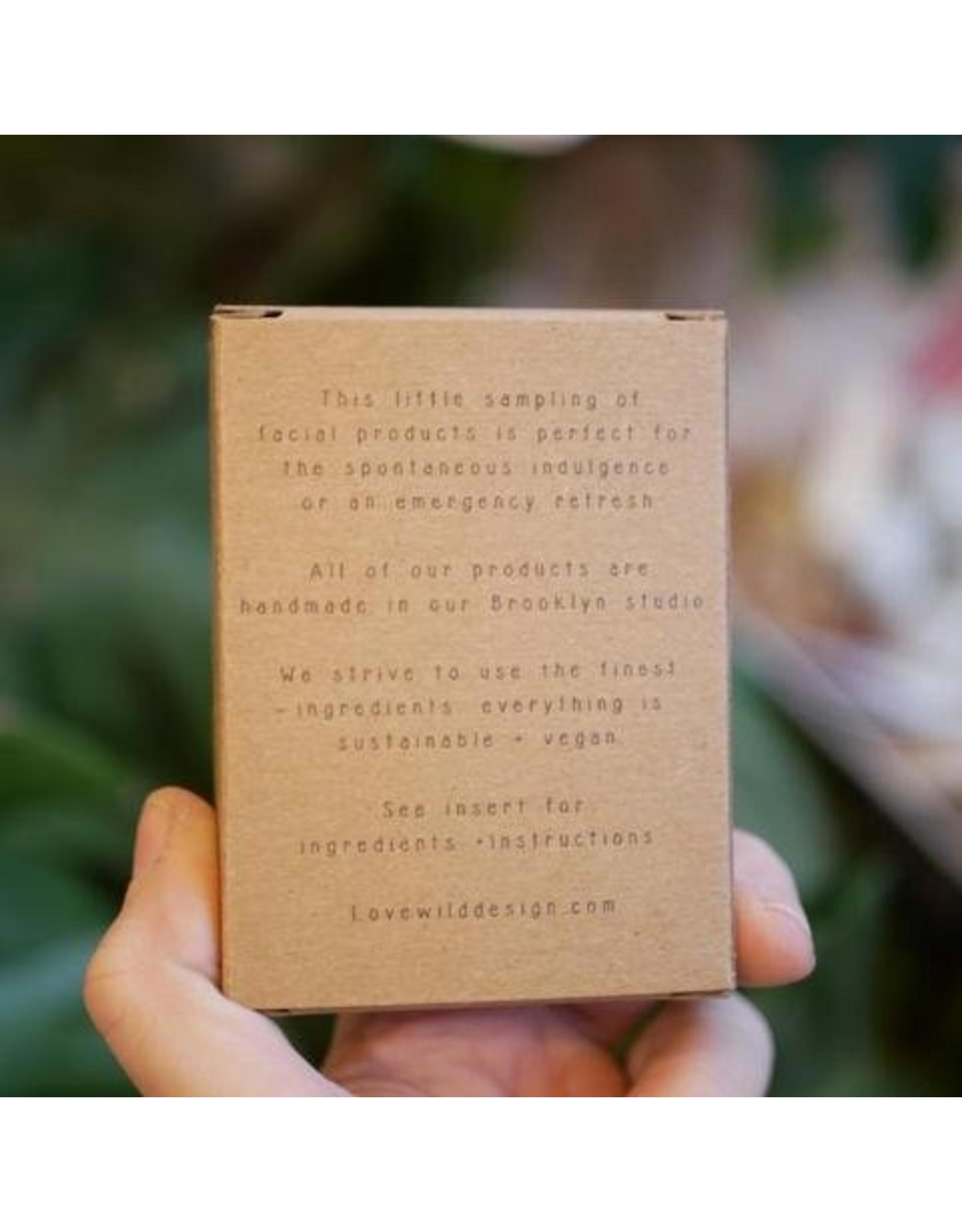 Lovewild Designs Mini Facial Kit