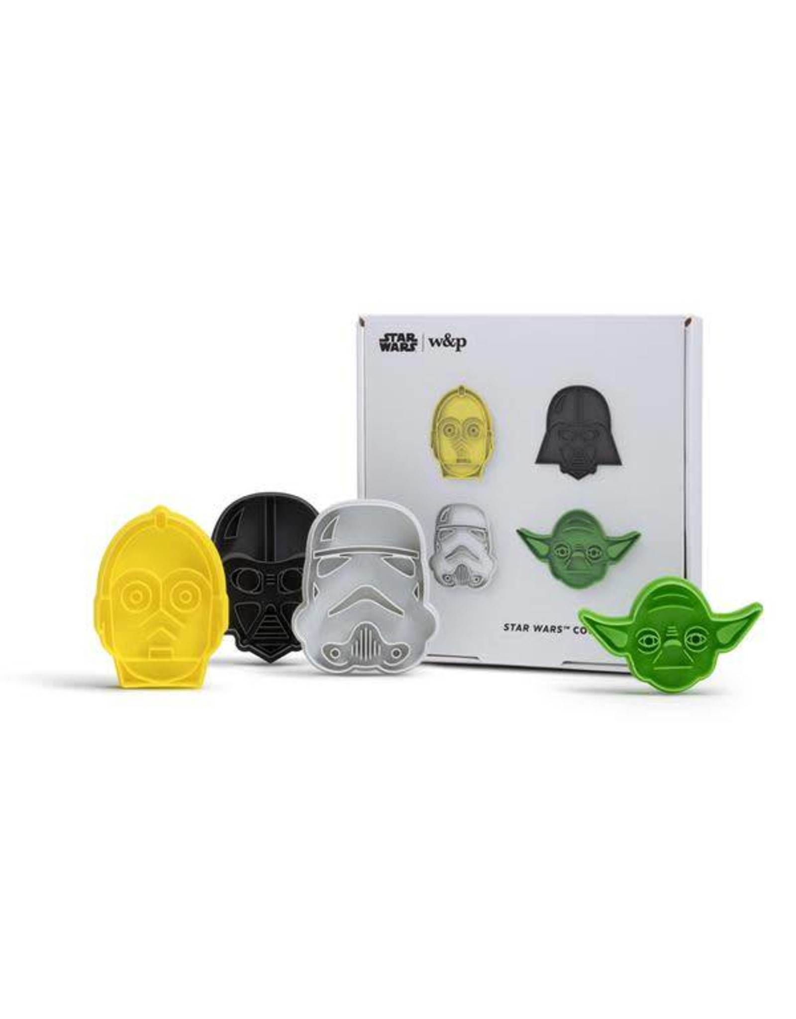 W & P Designs Star Wars Cookie Cutters