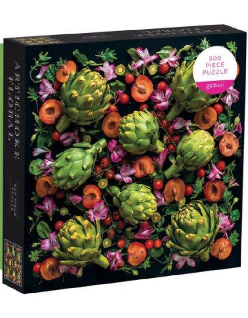Artichoke Floral Puzzle