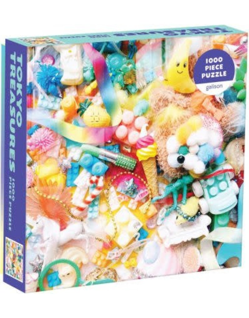 Tokyo Treasures 1000 Piece Puzzle