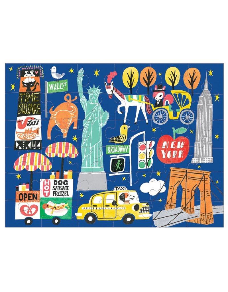 mudpuppy NYC Puzzle to Go
