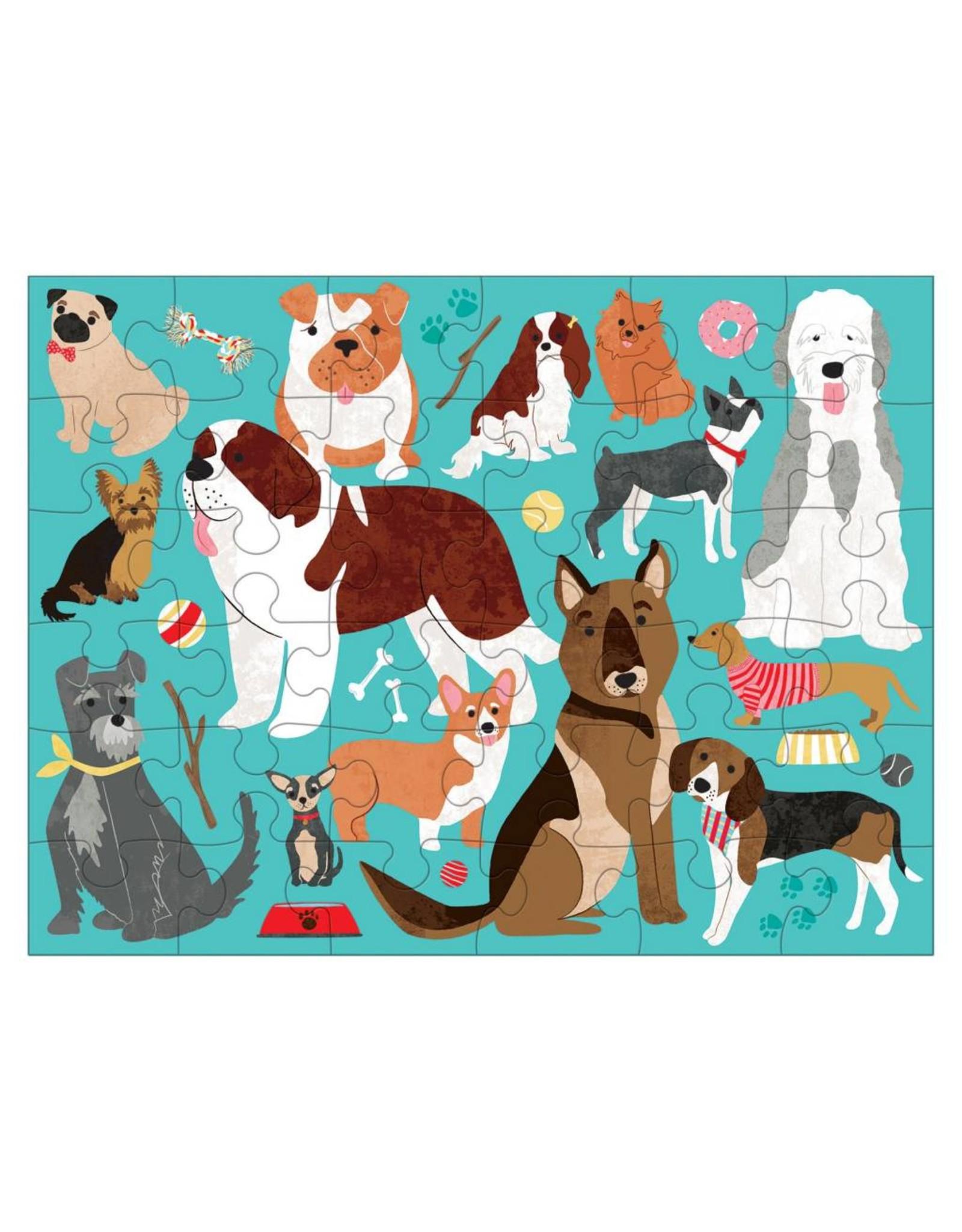 mudpuppy Dog Puzzle to Go