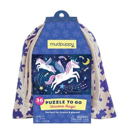 mudpuppy Unicorn Puzzle to Go
