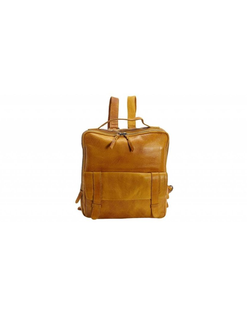 Latico Leathers Hester Backpack - Yellow