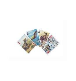 Kikkerland Dinosaur 3D Playing Cards