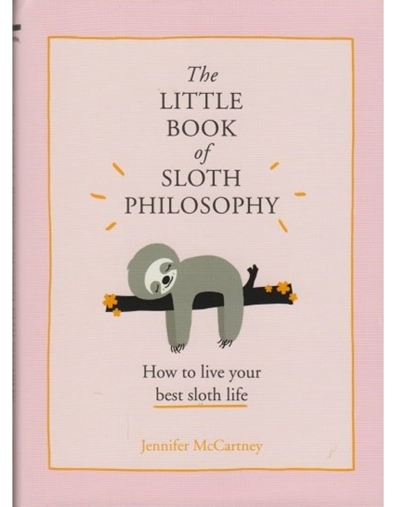 HarperCollins The Little Book of Sloth Philosophy