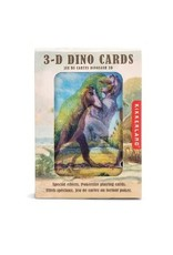 Kikkerland Dinosaur 3D Playing Cards