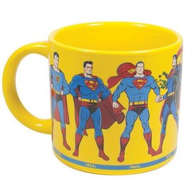 Unemployed Philosophers Guild Superman Through The Years Mug