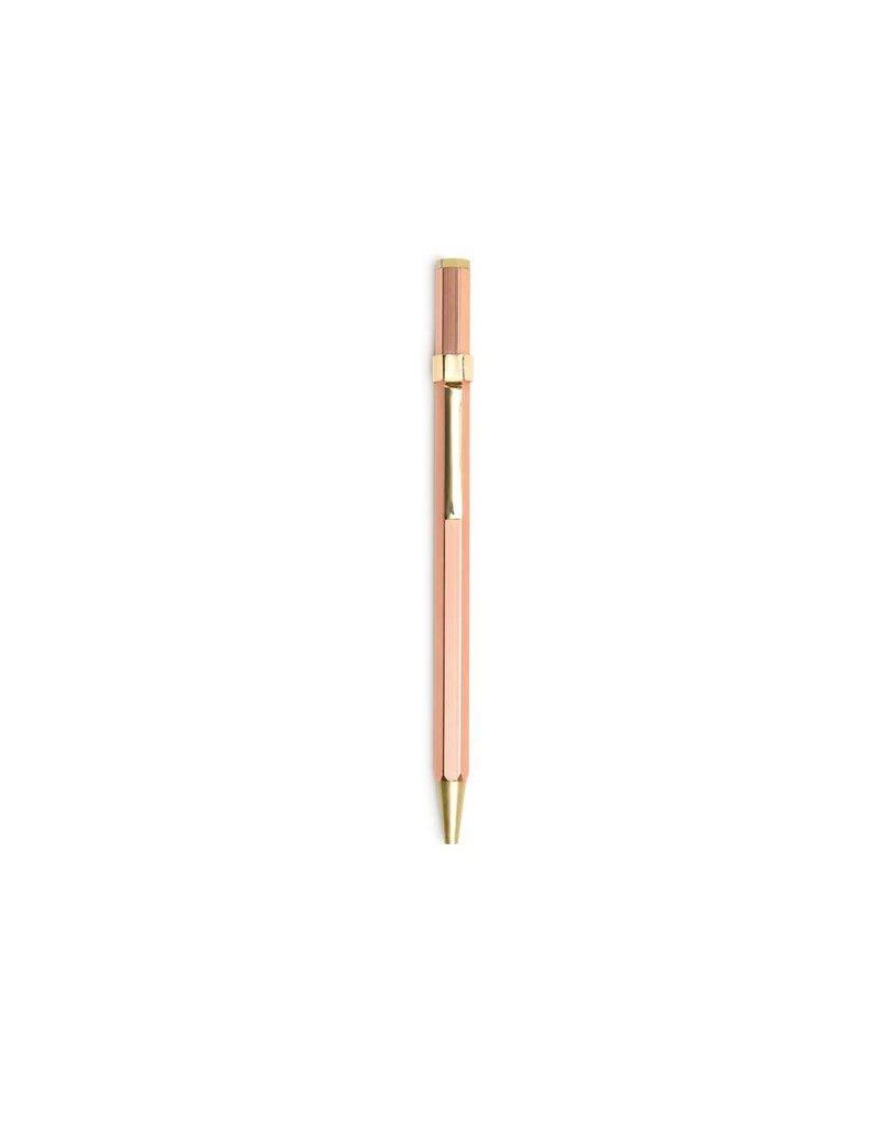 Designworks Rose Gold Twist Pen
