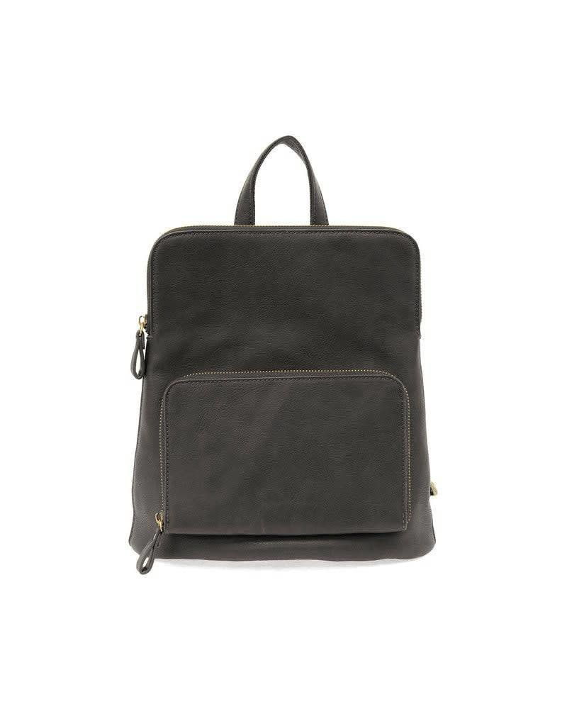 Joy Accessories Julia Mini Backpack in Black