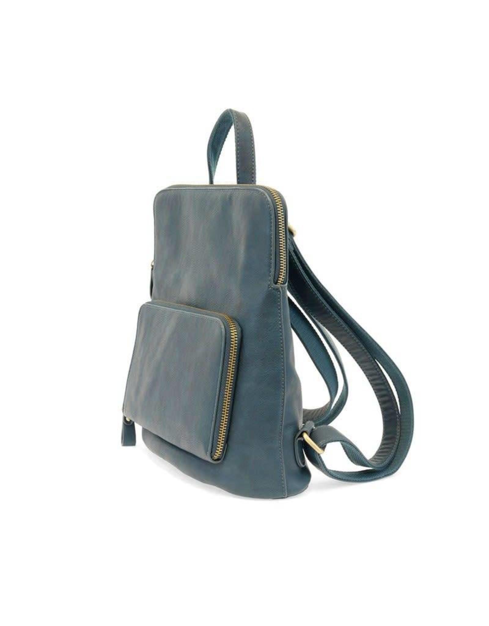 Joy Accessories Julia Mini Backpack in Peacock