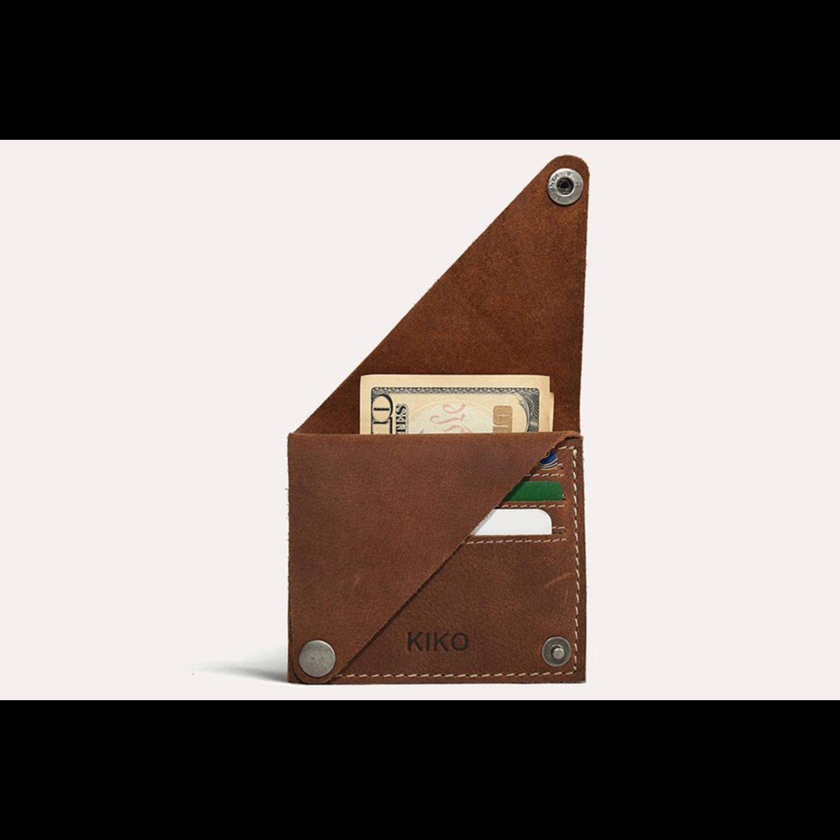 Kiko Leather Wing Fold Wallet