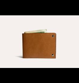 Kiko Leather Kiko Unstitched Billfold Wallet - Brown