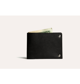 Kiko Unstitched Billfold Wallet - Black