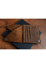 Kiko Leather Wing Fold Wallet