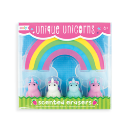 Unicorn Shaped Scented Erasers