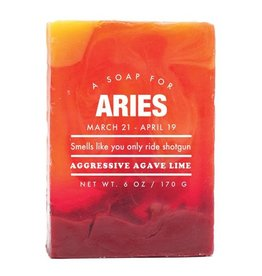 """Aries"" Whiskey River Soap"