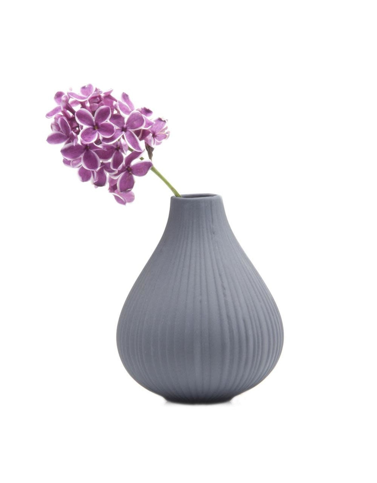 Chive Frost Vase in Grey