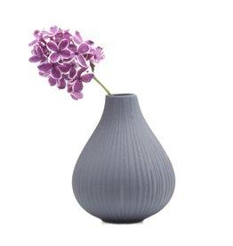 Frost Vase in  Grey