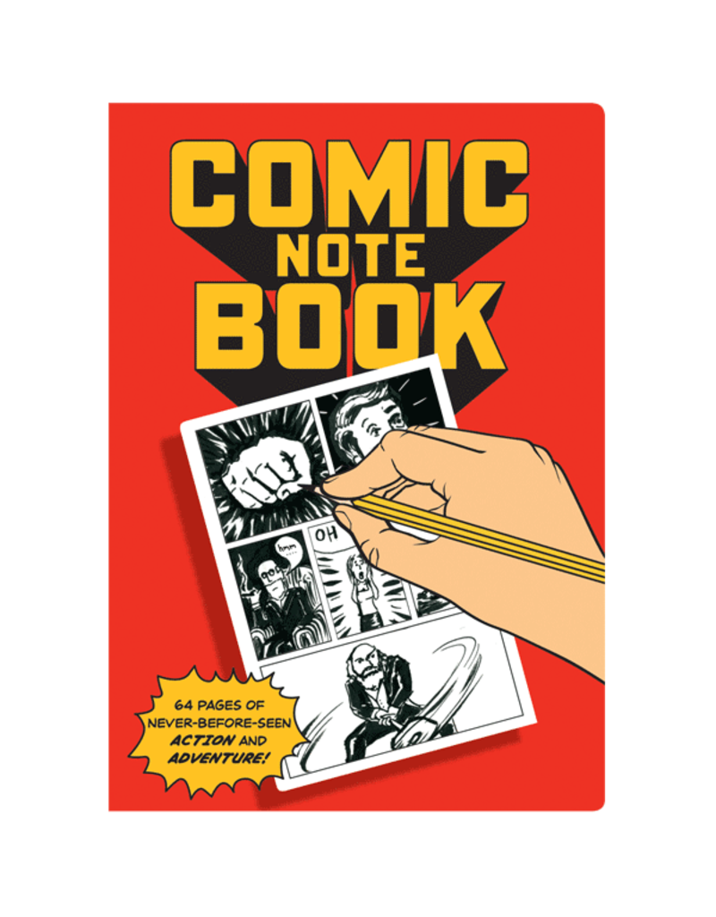 Unemployed Philosophers Guild Comic Book Notebook