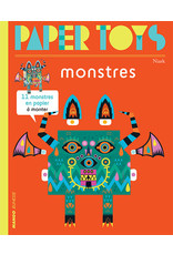 Ginkgo Press Paper Toys Pop Out Monsters