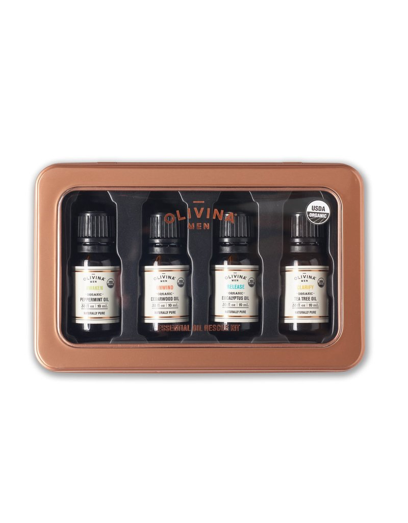 Olivina Men Olivina Essential Oil Kit