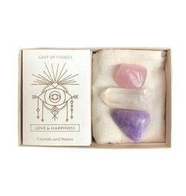 Cast Of Stones Love & Happiness Stone Set
