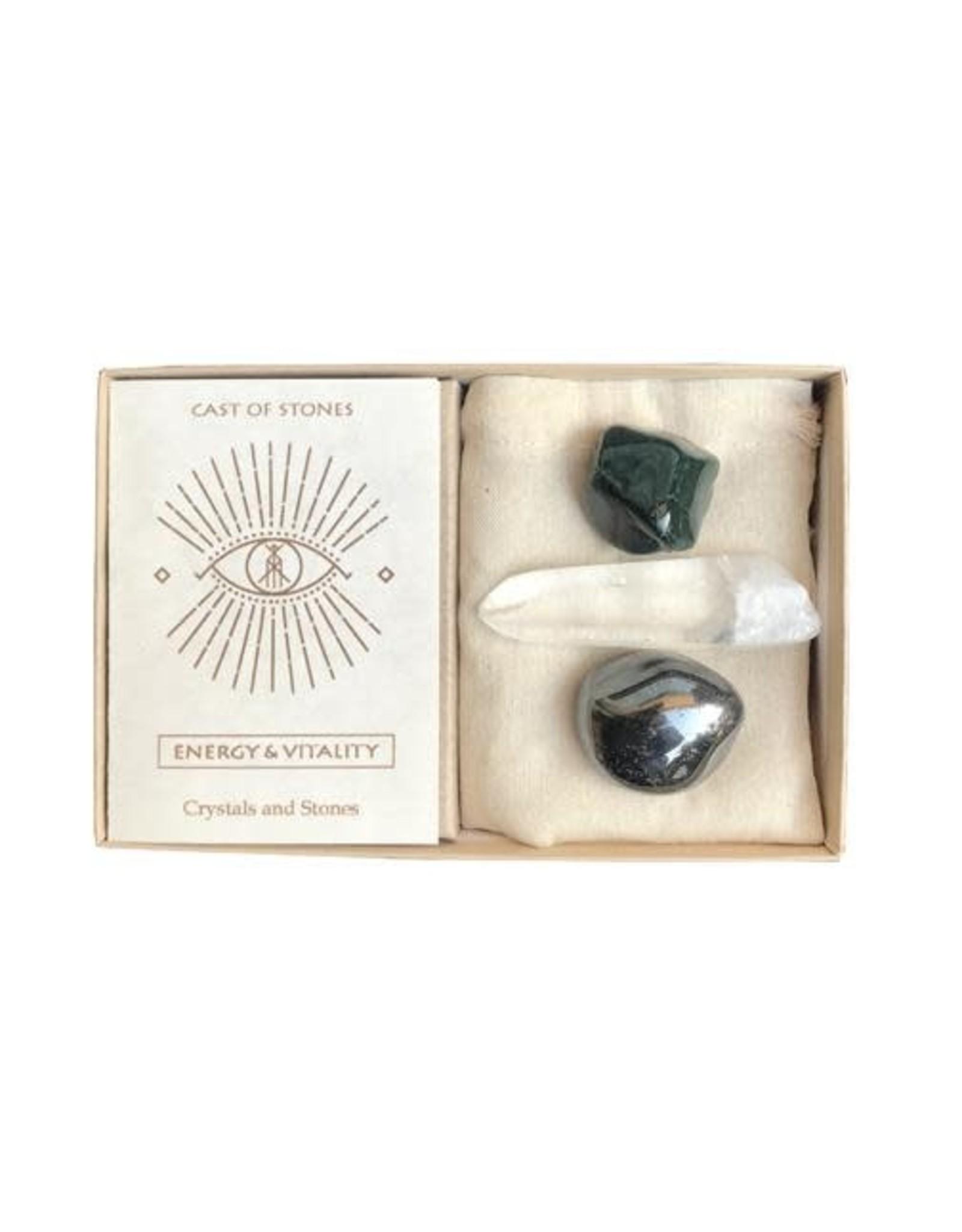 Cast Of Stones Energy & Vitality Stone Set