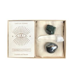 Cast Of Stones Energy & Vitality Stone Set