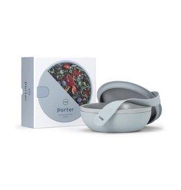 W & P Designs Porter Ceramic Lunch Bowl in Slate