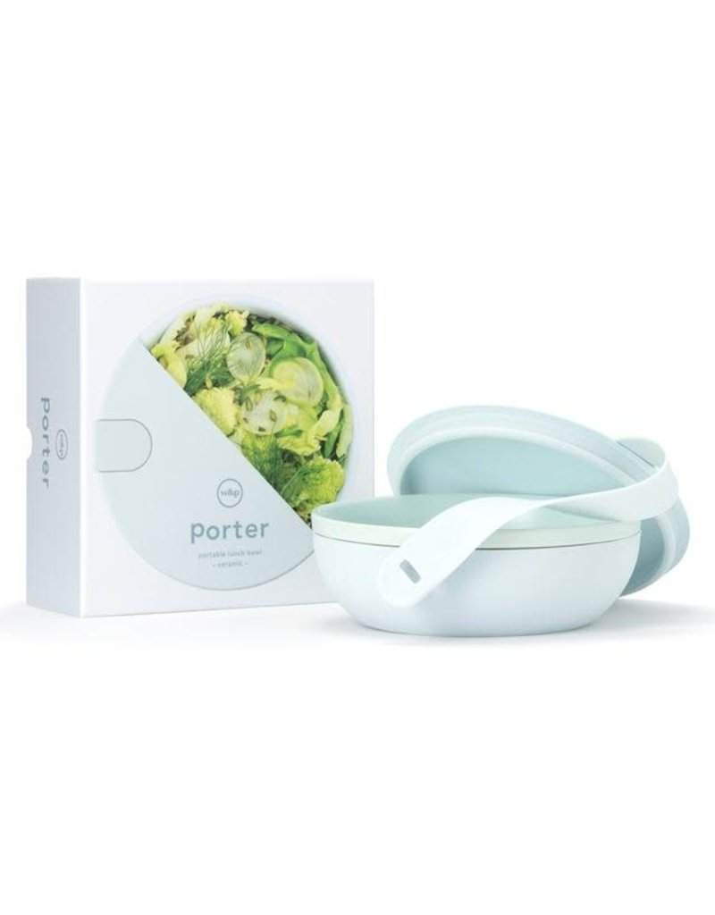 Porter Ceramic Lunch Bowl in Mint