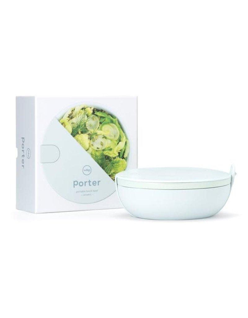 W & P Designs Porter Ceramic Lunch Bowl in Mint