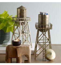 DCI Water Tower Decorative Container