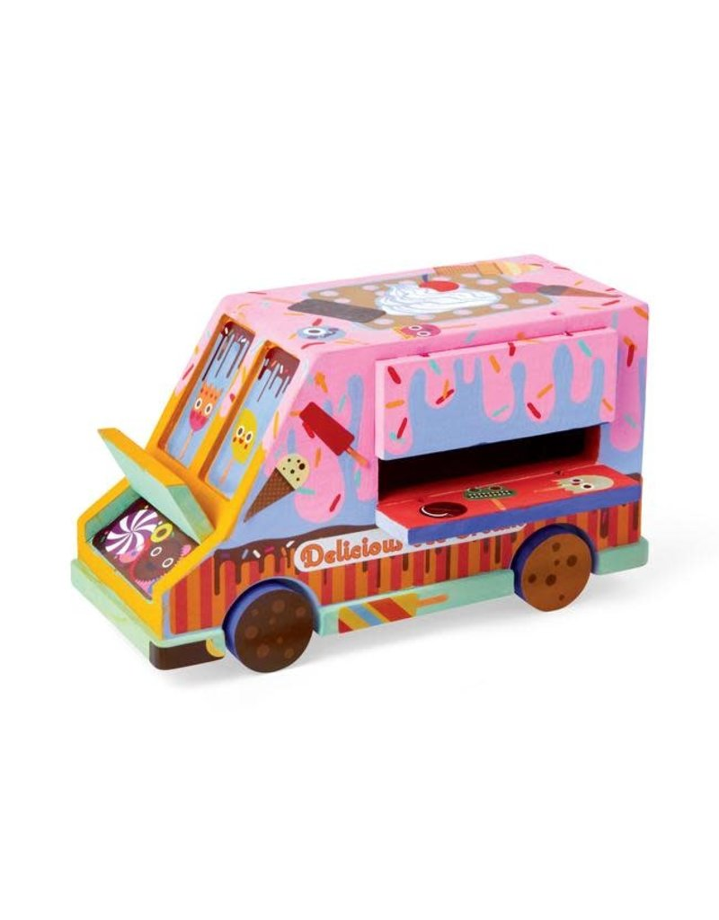 Kid Made Modern Paint Your Own Ice Cream Truck