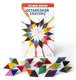 Kid Made Modern Octahedron Crayon
