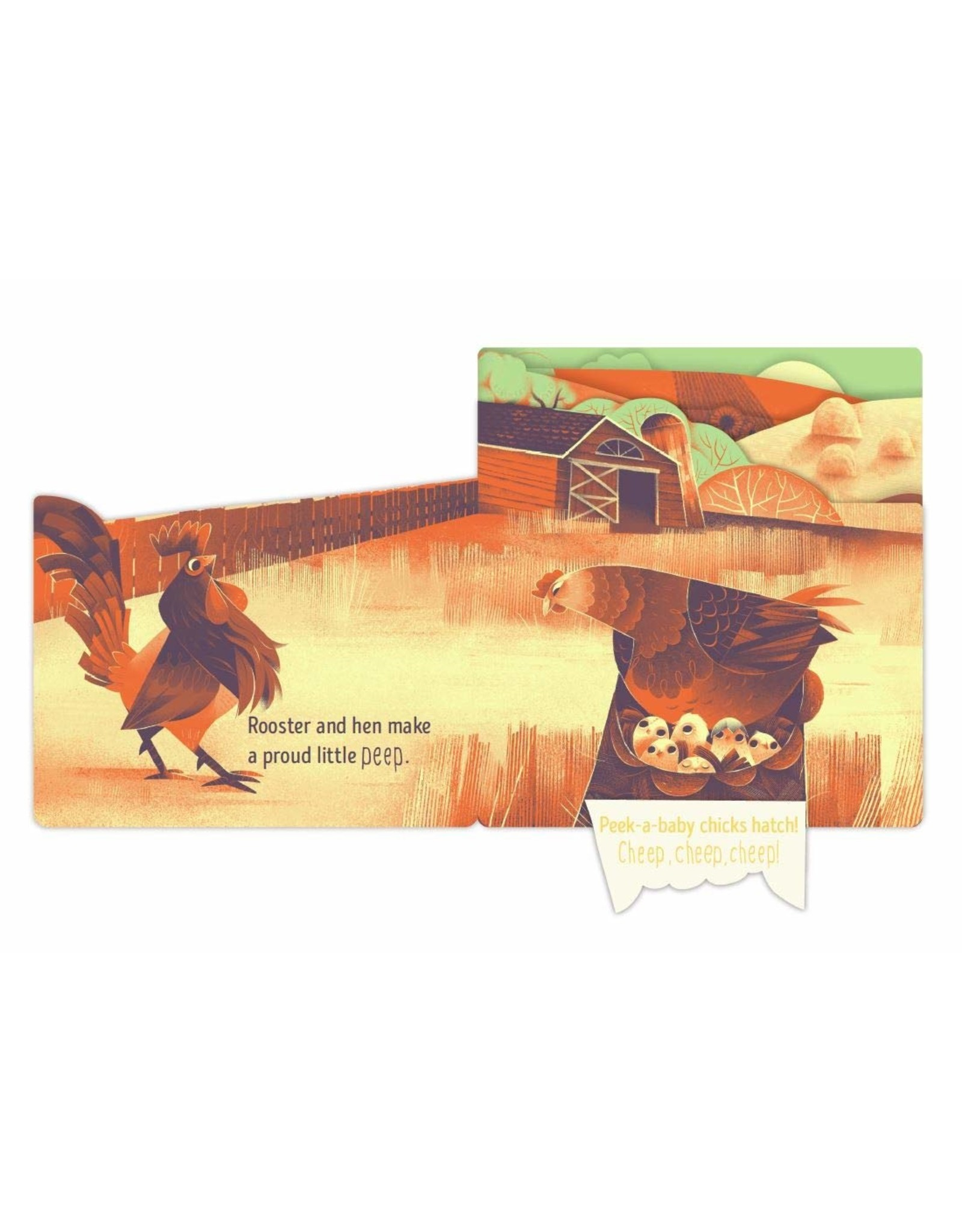 Chronicle Books Peek-A-Baby Farm
