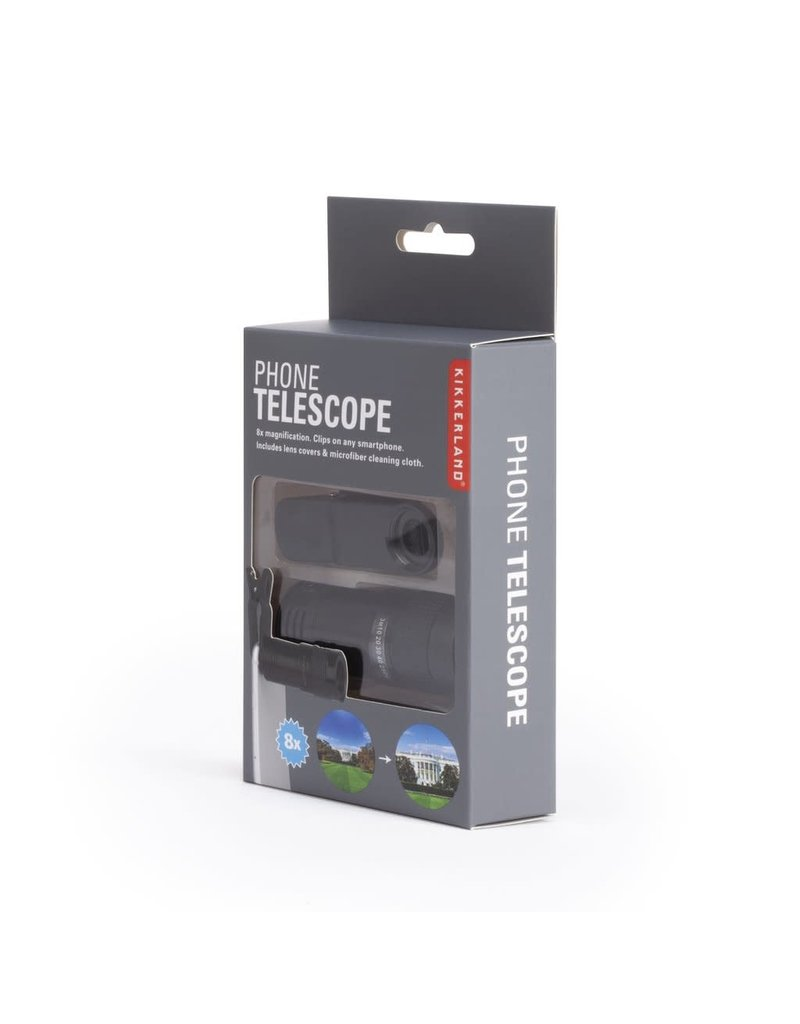 Kikkerland Phone Telescope