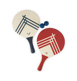 True Fabrications Beach Tennis Paddle Set