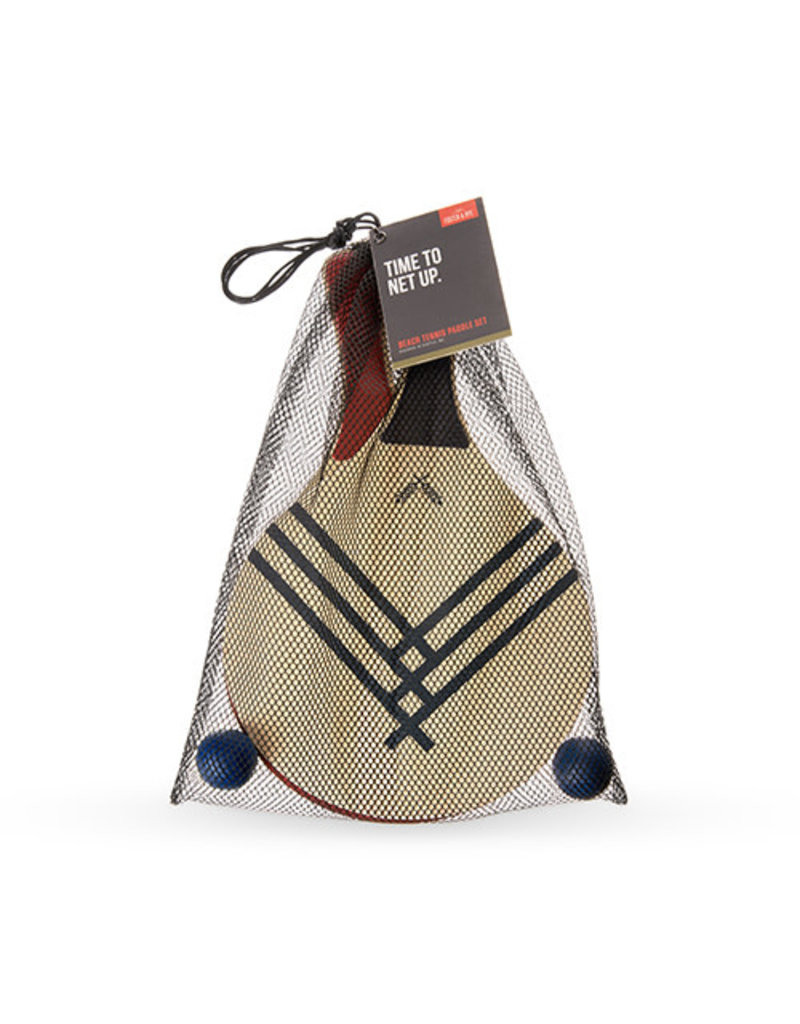 Foster and Rye Beach Tennis Paddle Set by Foster & Rye