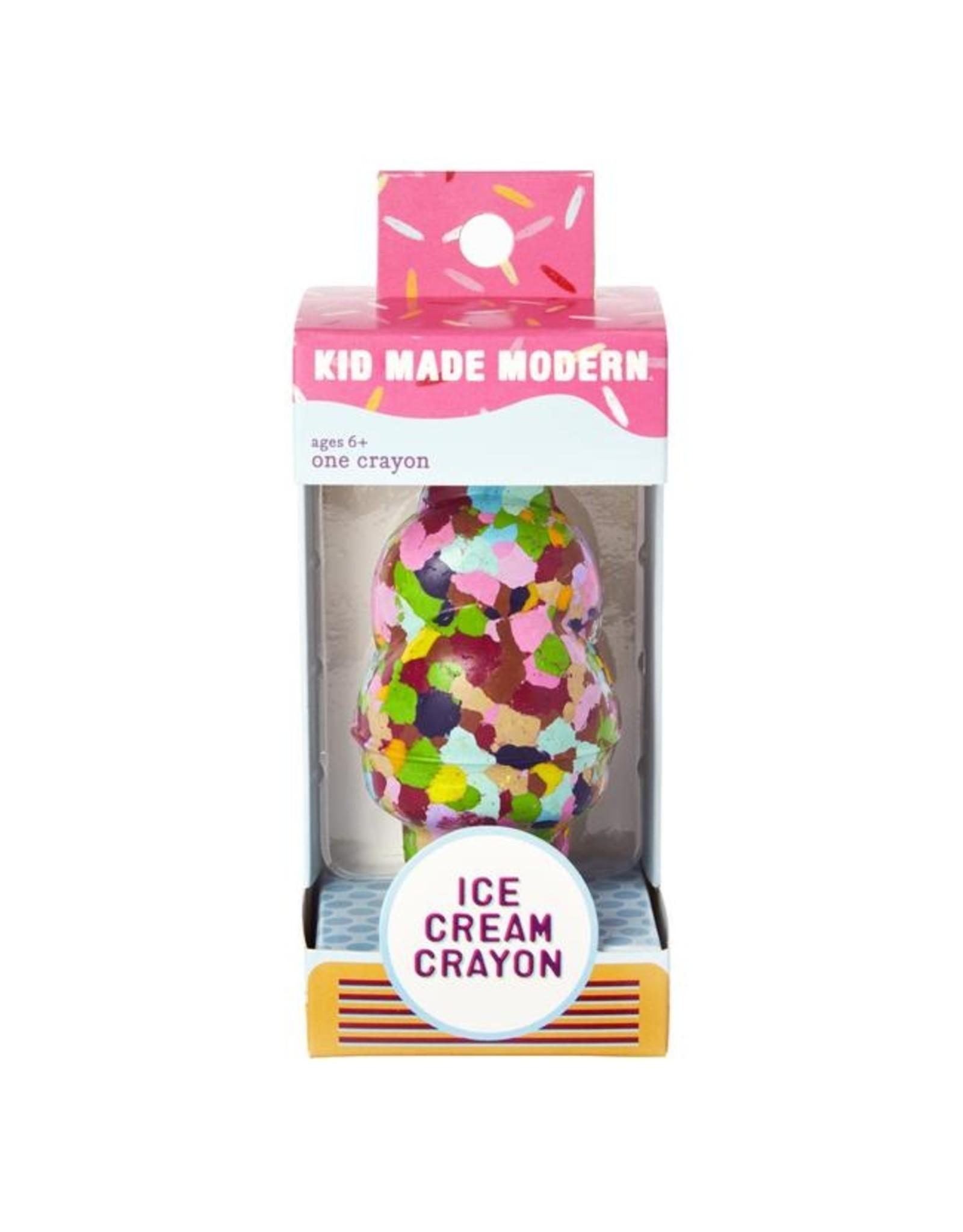Kid Made Modern Ice Cream Crayon