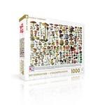 New York Puzzle Company Mushrooms Puzzle