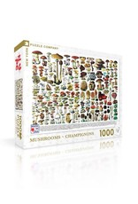 New York Puzzle Company Mushrooms Puzzle
