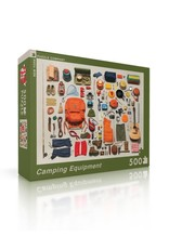 New York Puzzle Company Camping Equipment Puzzle